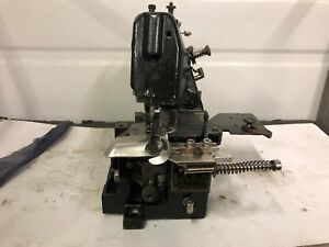 Union Special 43200 With Split Folder For Hemming Etc Industrial Sewing Machine