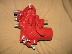Farmall Tractor Carburetor International Ihc H Hv O4 W4 Restored Carb Nice