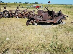 Large Lot Of Model T Ford Parts 1917 Touring And More