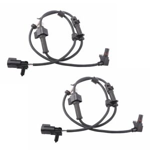 2pcs Abs Wheel Speed Sensor Front Pair For 2002 2009 Chevrolet Gmc Buick