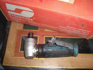 Dynabrade 47802 4 Hp Right Angle Die Grinder 20 000 Rpm Geared Front Exhaust