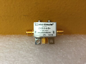 Mini circuits Zx30 9 4 s 5 To 1200 Mhz Sma f Coax Directional Coupler Tested