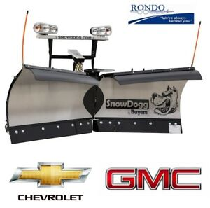 Gm Truck 1500 2500 Trip Edge V Plow Snowdogg Vmd75 Versitale Reliable Strong