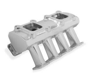 Holley Sniper 823061 Sheet Metal Fabricated Intake Manifold Ls3 Ls Tunnel Ram
