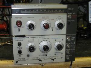 Hp Spectrum Analyzer Rf Section 8553b 8552b If Section