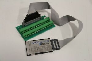 National Instruments Pcmcia Daqcard 1200 Ni Daq Card Analog Input Cb 50lp Card