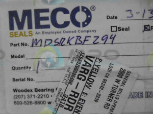 Meco Mdsrkbf294 Rebuild Kit factory Sealed