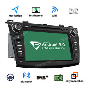 8 Android 8 1 Car Stereo Radio Gps Dvd Player Bt Radio Audio For Mazda 3 Mazda3