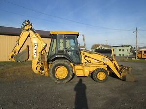 John Deere 310g Farm Tractor Loader Backhoe