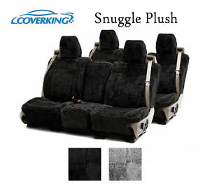 Coverking Custom Seat Covers Snuggle Plush Front And Rear Row 2 Color Options