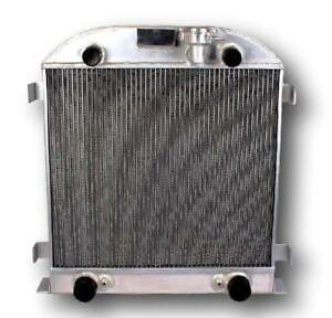 Opl Hpr072r Aluminum Radiator For 1939 1941 Ford Model A Flathead V8 Engine