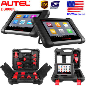 Autel Ds808k Obd2 Analysis System Auto Diagnostic Tool Reader Abs Srs Epb Bms