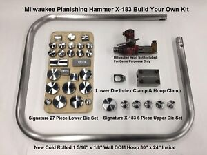 Milwaukee Planishing Hammer X 183 Build Your Own Kit Head Die Tray Not Included