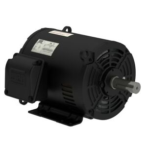 Weg 3hp Genral Purpose Electric Motor 1800 Rpm 3 Phase Foot Mounted New