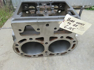 John Deere R R48r Block Bored To 6 125 To Be Able To Use 730 Std Pistons 2