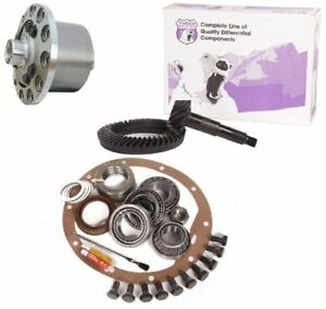Jeep Wrangler Yj Tj Xj Dana 35 4 11 Ring And Pinion Truetrac Posi Yukon Gear Pkg
