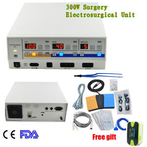 300w Leep High Frequency Electrosurgical Unit Diathermy Cautery Machine 220 110v