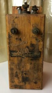 Vintage Detroit Coil Co Ignition Buzz Box