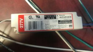 New Philips Advance Led Electronic Driver Led 277a 0700c 28 fo 20w 0 7a
