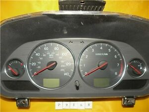 03 04 Volvo 40 Series Speedometer Instrument Cluster Dash Panel Gauges 45 758