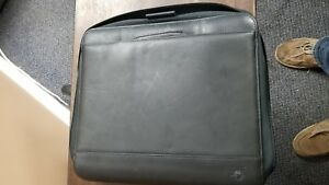Monarch folio 1 25 Rings Black Leather Franklin Covey Planner binder