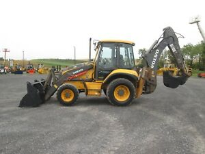 Volvo Bl70b Farm Tractor Loader Backhoe