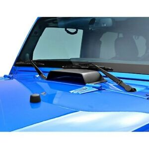 For Jeep Wrangler 1997 2006 Paramount Air Vent Black Hood Scoop