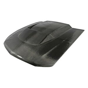 For Ford Mustang 2010 2012 Carbon Creations Circuit Style Carbon Fiber Hood