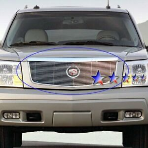 For Cadillac Escalade 2002 2006 Apg 1 Pc Polished Horizontal Billet Main Grille
