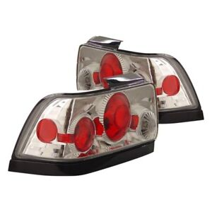 For Toyota Corolla 1993 1997 Cg Chrome red G2 Euro Tail Lights