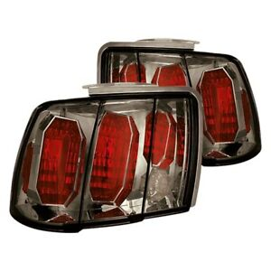 For Ford Mustang 1999 2004 Ipcw Chrome Red platinum Smoke Euro Tail Lights