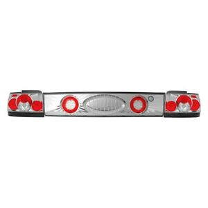 For Toyota Corolla 1993 1997 Ipcw Chrome red Euro Tail Trunk Lights