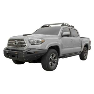 For Toyota Tacoma 16 17 Ultima Series Full Width Raw Front Winch Hd Bumper