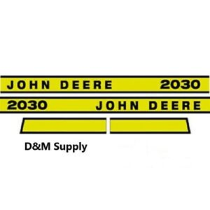 John Deere 2030e Tractor Decal Set