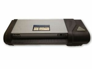 Ibico El 12 Large Size Commercial Pouch Laminating Machine Pouch Laminator As is