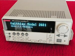 Keithley 2601 Single Channel Sourcemeter 3a Dc 10a Pulse