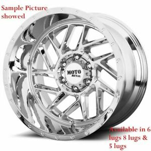 4 New 20 Wheels Rims For Chevrolet Silverado 1500 K 1500 C 2500 K 2500 6943