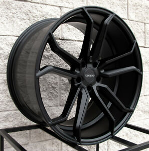 22 Varro Vd02 Staggered Wheels Tires Bmw X5 X6 X5m X6m Satin Black