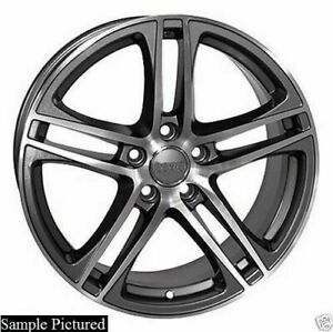 1 New 17 Replacement Wheel For Audi A3 A4 A5 A6 A8 R8 Rim 5222