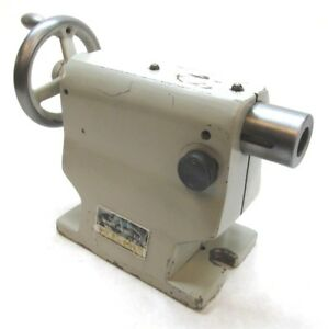 Troyke 6 375 Center Height Rotary Table Tailstock ts 9