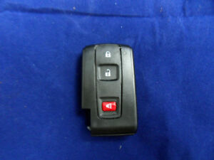 New Smart Remote Key Case Shell Fob 2 1 Button 04 09 Prius Free Shipping