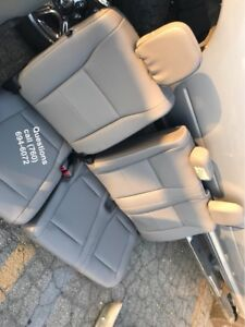 2017 Ford F 250 F 350 Rear Bench Seat Gray Vinyl