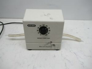 Bio rad Variable Speed Pump Buffer Recirculation Pump 224br Electrophoresis Lab