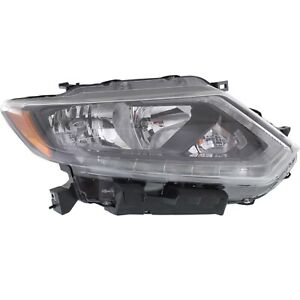 Headlight For 2014 2015 2016 Nissan Rogue S Sl Sv Models Right With Bulb