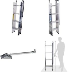 Step Ladders Al Attic Pole Ideal Openings Feet Hallways Closets Spaces Easy Load