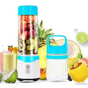 Portable Blender Lifante Personal Blender For Shakes And Smoothies With 2 Juicer