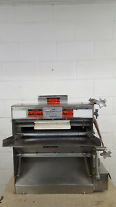 Acme Mrs11 Double Pass Dough Roller Sheeter Table Top Tested 115v Stainless
