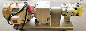 1 030 Waukesha Cherry Burrell Positive Displacement Pump 4