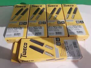 5 Tweco 2 mpc Connectors 4mpc 2 mc Value Bundle Of 5