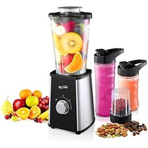 Housmile Smoothie Blender 7 Piece Professional Countertop Blender With 300 Watts